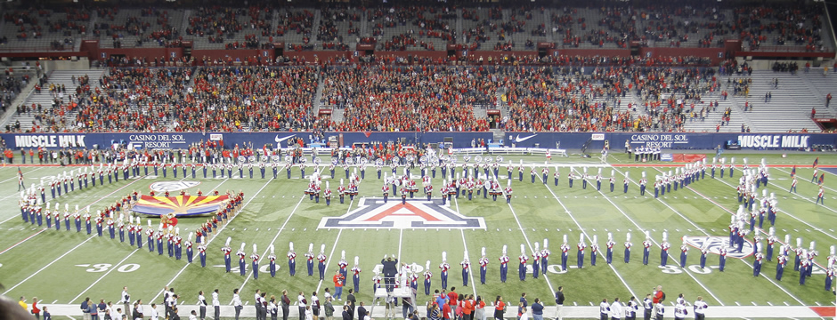 The Pride of Arizona - University of Arizona Marching Band